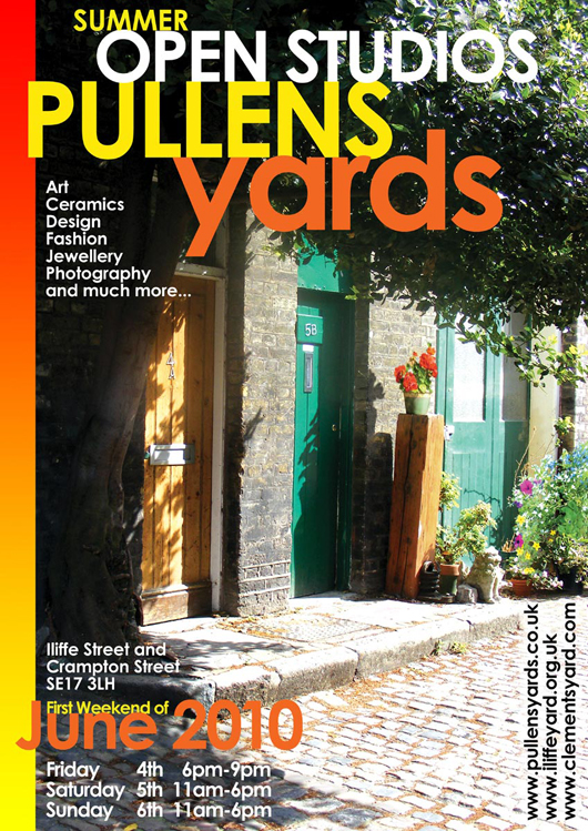 Pullens Yards Open Studios Summer 2010